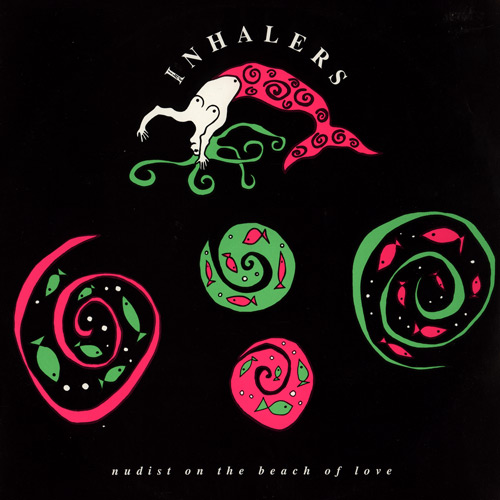 Cover - Inhalers - Nudist On The Beach Of Love (vinyl LP)